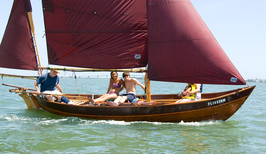 "19'6"" Caledonia Yawl II Plans from WoodenBoat"